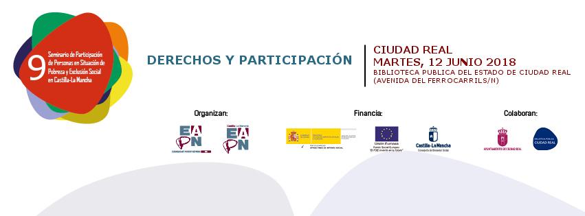 9º Seminario de Participación de Personas en Situación de Pobreza y Exclusión Social en Castilla-La Mancha
