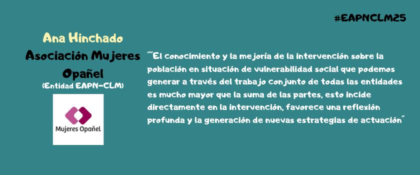 Asociación Mujeres Opañel (Entidad EAPN-CLM)