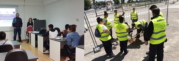 Empledis SL, Centro Especial de Empleo creado por IFAD, desarrolla un proyecto de inserción laboral para rehabilitar el barrio de la Milagrosa y la Estrella (Albacete)