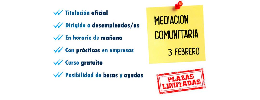 Curso gratuito de Mediación Comunitaria en Toledo