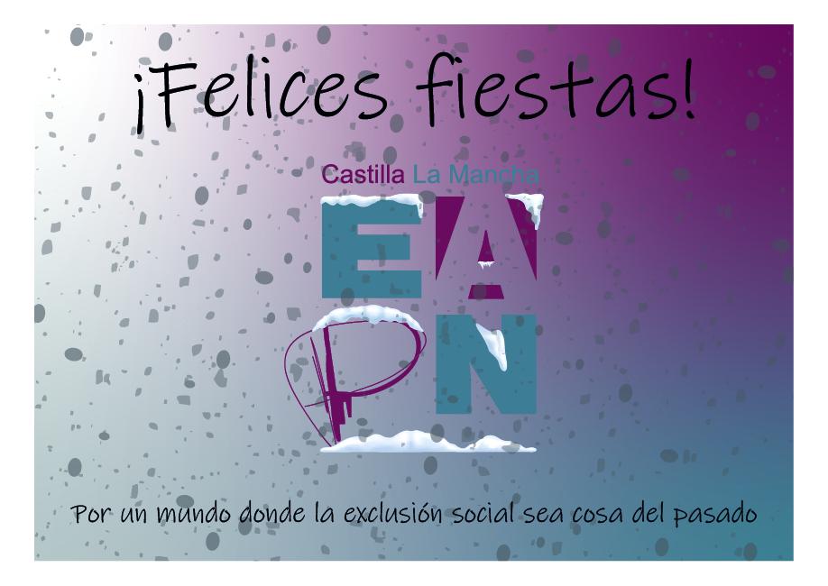 Eapn Castilla – La Mancha les desea felices fiestas