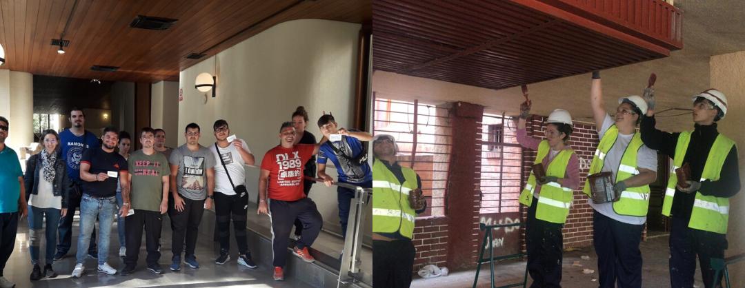IFAD continúa con su proyecto de inserción laboral para rehabilitar el barrio de la Milagrosa y la Estrella (Albacete)