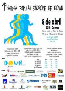 I carrera Popular Síndrome de Down @ Plaza de España cuenca