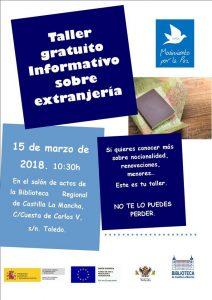 Taller informativo donde podrás aclarar aspectos básicos sobre extranjería @ MPDL-CLM, Toledo   Toledo   Castilla-La Mancha   España