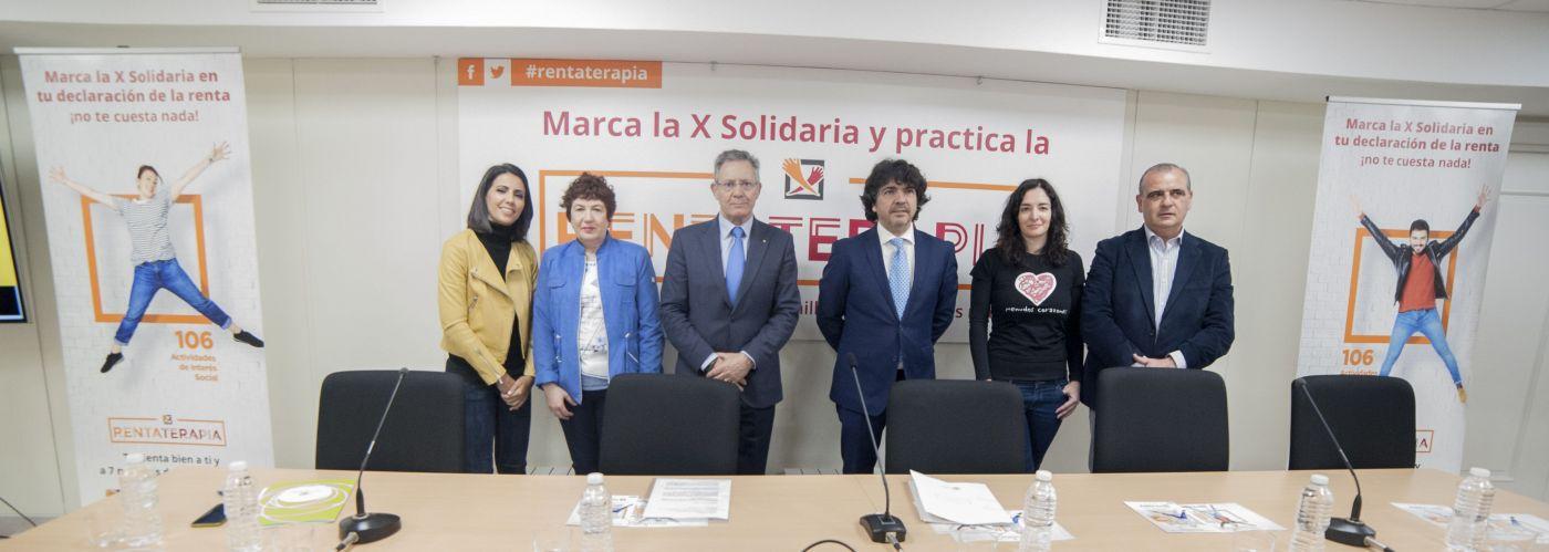"""Las ONG han presentado hoy su campaña informativa de la """"X Solidaria"""""""