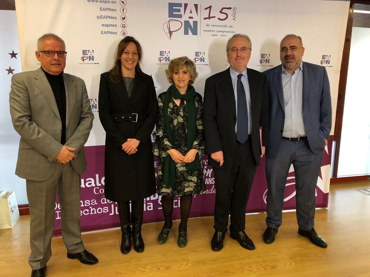 EAPN-España cumple 15 años de lucha contra la pobreza y exclusión social