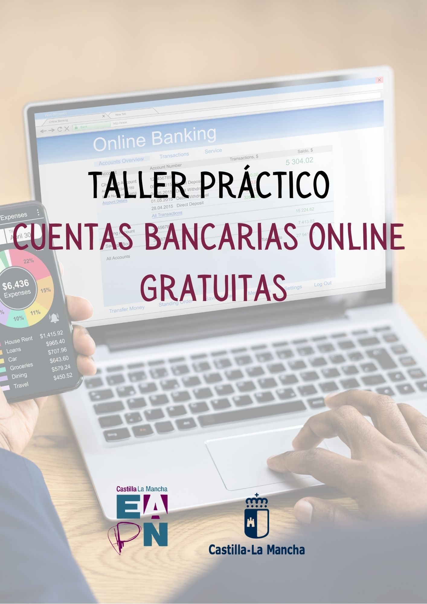 Taller practico cuentas bancarias online gratuitas